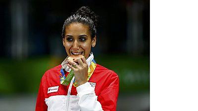 La Tunisie célèbre sa première médaillée des jeux de Rio