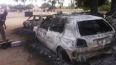 Boko Haram attacks Nigeria immigration staff convoy killing 5 civilians