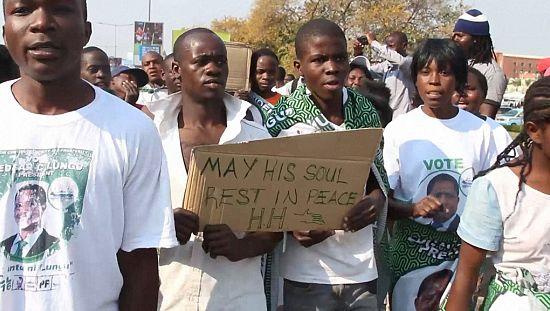 [no comment] L'opposition conteste la réélection du président Lungu en Zambie