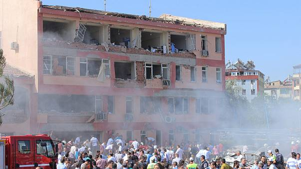 Three separate bomb blasts in Turkey kill 11 and injure more than 200
