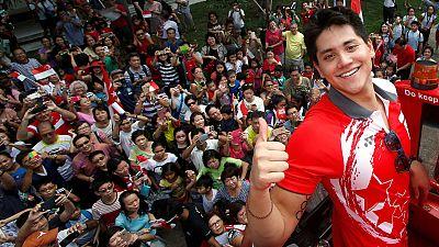 #Rio2016: Joseph Schooling é herói nacional em Singapura