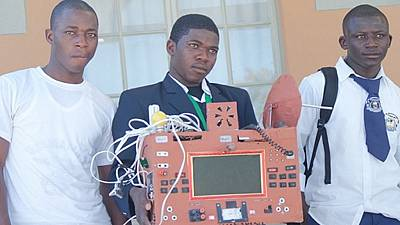 No sim nor airtime needed for calls, Namibian student builds this phone from scrap