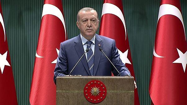 أردوغان: حزب العمال الكردستاني وتنظيم داعش ومنظمة غولن كلها إرهابية