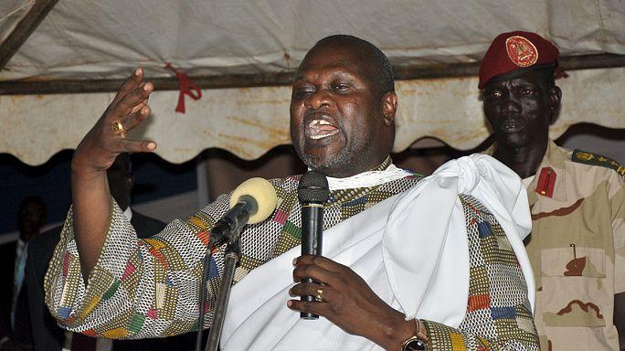 رياك مشار في الكونغو الديمقراطية عقب فراره من جنوب السودان