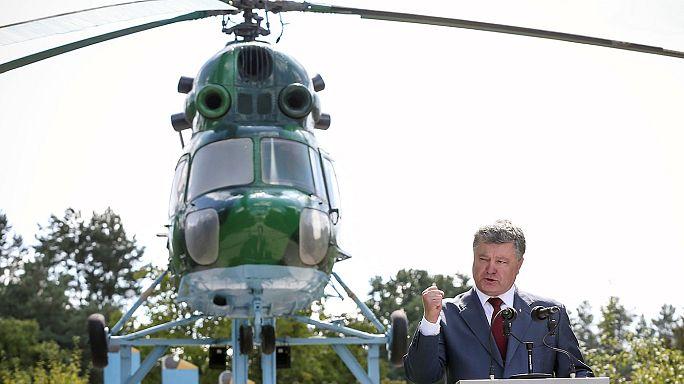"""بوروشينكو: """"لا نستبعد غزوا روسيا على نطاق واسع ونحن مستعدون"""""""