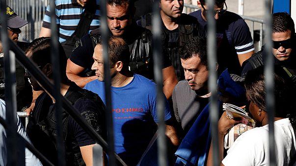 دادگاه یونان بالاخره سرنوشت هشت نظامی فراری ترکیه را رقم می زند