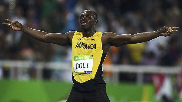 يوسين بولت يتوج بذهبية 200 متر للمرة الثالثة على التوالي