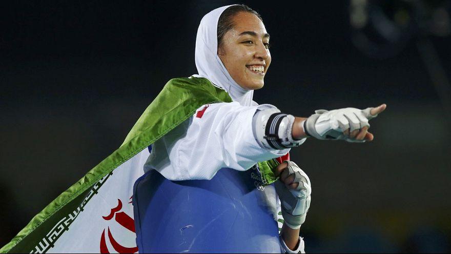 Rio 2016: Kimia Alizadeh é a primeira iraniana a conquistar uma medalha olímpica