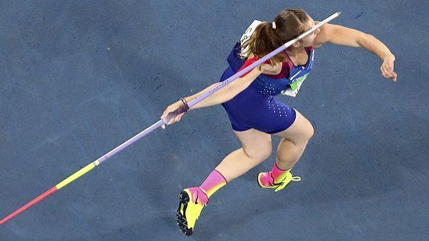 Kroatin Sara Kolak gewinnt Goldmedaille im Speerwurf