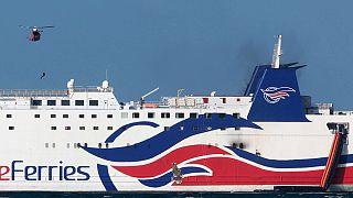 Puerto Rico: 105 heridos en el incendio registrado en un ferry