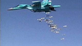 Russische Kampfjets auf dem Weg nach Syrien