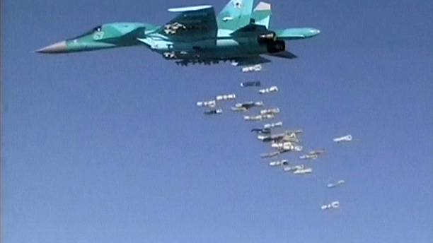 Russian jets leave Iran for Syria sorties