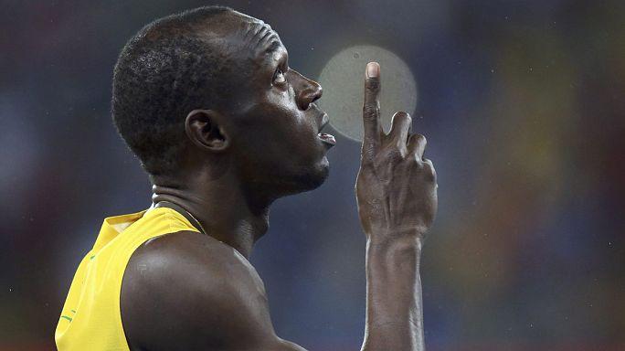 Bolt: Jamaicanos em festa
