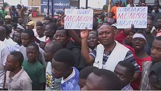 Protests in Beni, DRC against massacres