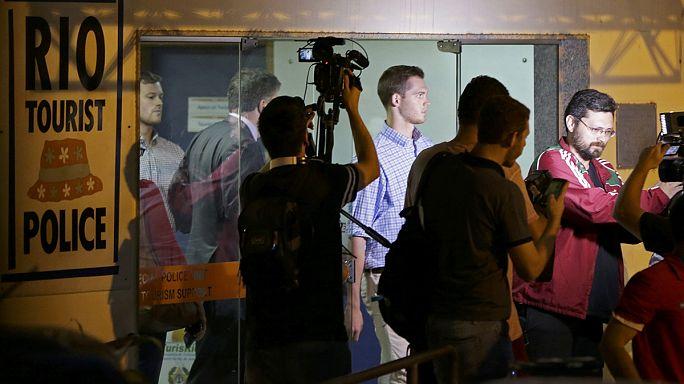 """السباح الأمريكي """"جيمي فيجين"""" يدفع غرامة مالية للقضاء البرازيلي"""