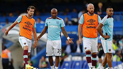 West Ham face dilemma on Ghana's Andre Ayew injury