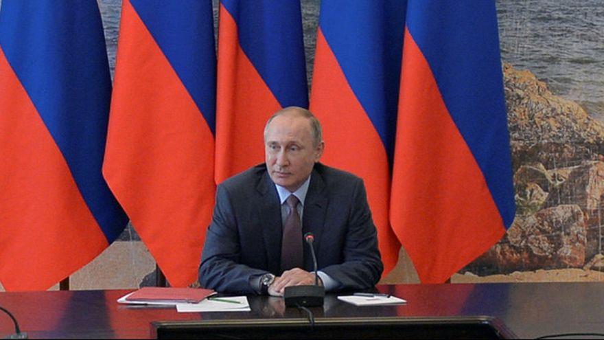 Putin Kırım'da Ulusal Güvenlik Konseyi toplantısına katıldı