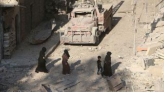 EUA enviam caças para proteger conselheiros na Síria