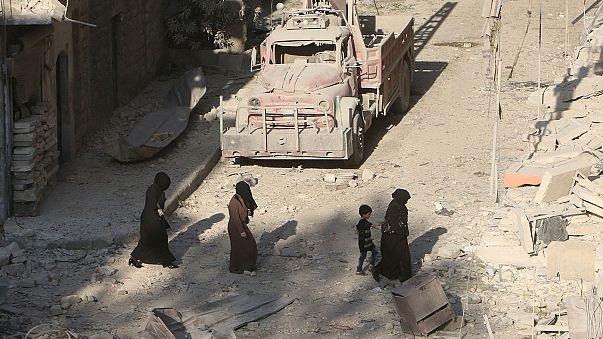 Сирия: армия разбомбила позиции курдов