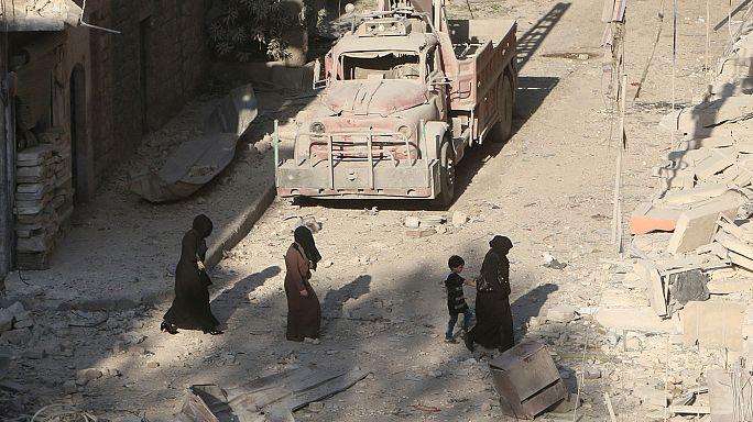 قتلى وجرحى جراء غارات على مواقع للأكراد في مدينة الحسكة السورية