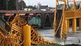 Чили: мост рухнул в реку вместе с поездом