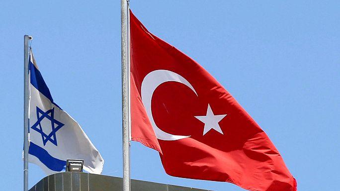 Megbocsátás: Törökország és Izrael már nincs haragban