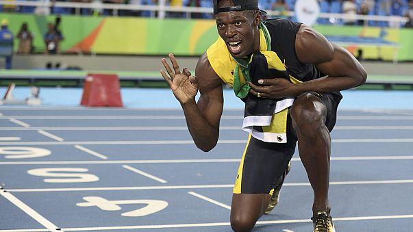 Bolt deixa multidão em delírio