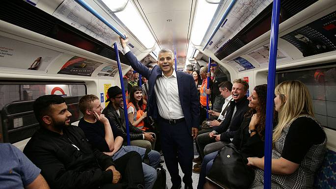 London gets first 24-hour tube service