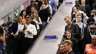 El metro de Londres deja de dormir los fines de semana