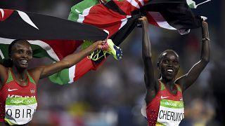 Rio 2016 : la kényane Vivian Cheruiyot, championne olympique du 5. 000 m