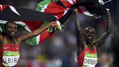 Kenya's Cheruiyot bags 5000m Gold, Obiri takes Silver