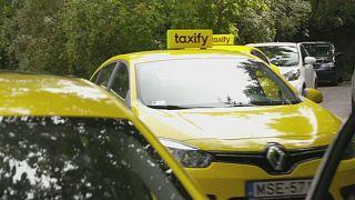Über'e Estonya etiketi: Taxify