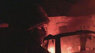 На востоке Украины не утихают артиллерийские обстрелы