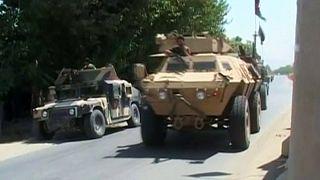Contraofensiva de las tropas afganas para recuperar el control de un distrito de Kunduz