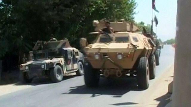 Taliban Kunduz'da güç gösterisi yaptı