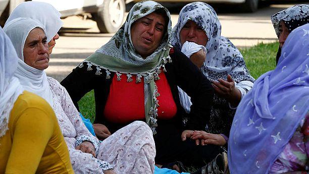 Kurdish wedding devastated by bomb attack in SE Turkey