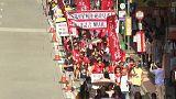 Hong Kong sokakları seçimler öncesinde yeniden hareketleniyor