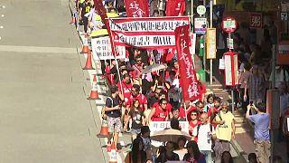 Χονγκ Κονγκ: Διαδηλώσεις για τον αποκλεισμό υποψηφίων από τις εκλογές