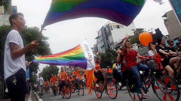 Vietnamese celebrate gay pride