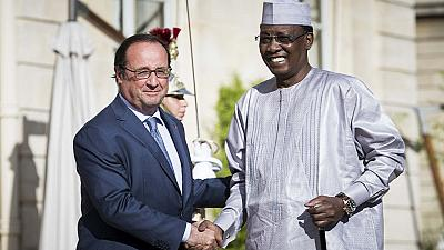 Chadian president Deby meets Hollande over regional security