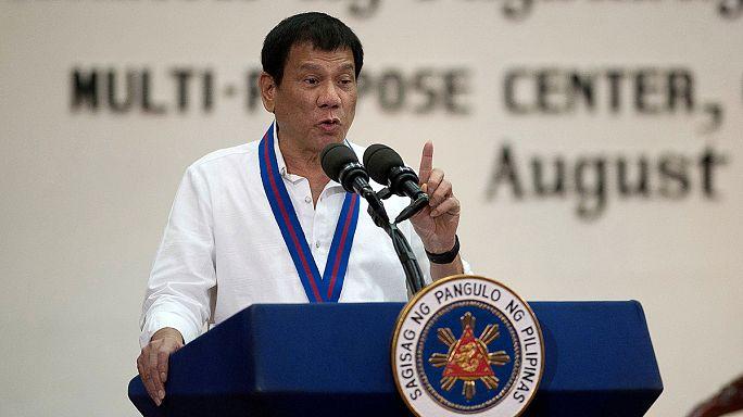 El presidente filipino amenaza con salir de la ONU por criticarle el asesinato de narcotraficantes