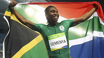 South Africa's Caster Semenya wins 800m gold 'hands off'