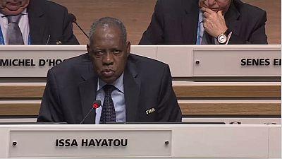 JO-2016: Issa Hayatou, vice-président de la Fifa, nommé membre honoraire du CIO