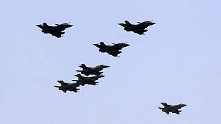 France destroy's ISIL weapons storage facility in Raqqa