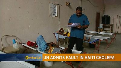 UN takes blame in role for Cholera in Haiti [The Morning Call]