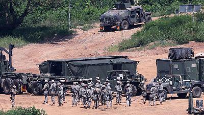 Seul e Washington iniciam exercício militar em clima de ameaças vindas da Coreia do Norte