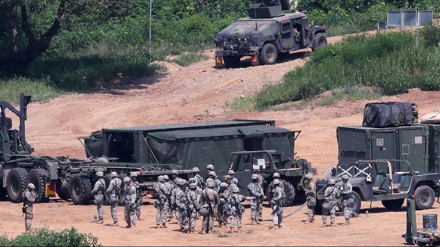 Südkorea und USA beginnen Militärmanöver