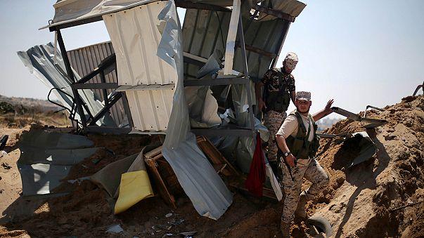 Israels Luftwaffe bombardiert dutzende Ziele im Gazastreifen