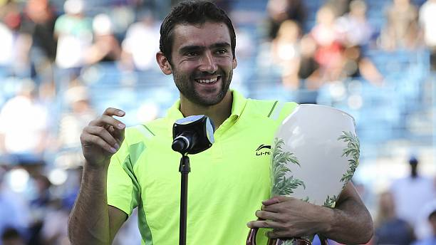 Cilic ends Murray's winning streak