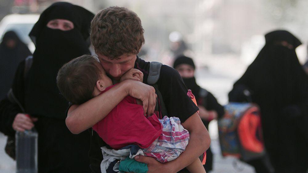 Savaşın masum kurbanları
